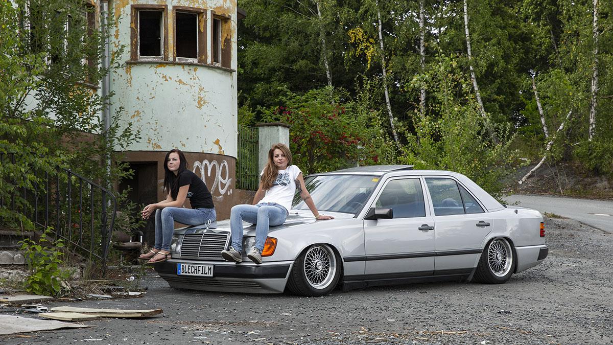 digitales Tuning Benz W124 Fake Garage