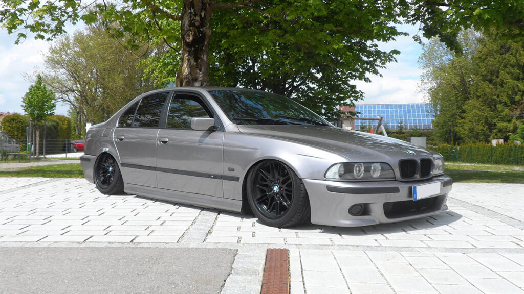 5er BMW e39 nachher